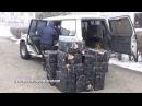 Самые необычные способы контрабанды сигарет через украинскую границу