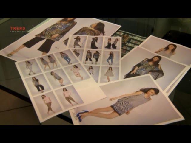 Paola Davoli fashion knitwear interview Tele Radio Città Modena