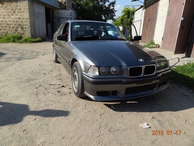 BMW E36. сборка. конечный результат.