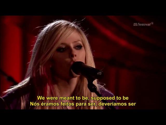 Avril Lavigne - My Happy Ending (Live) Legendado em PT/ENG