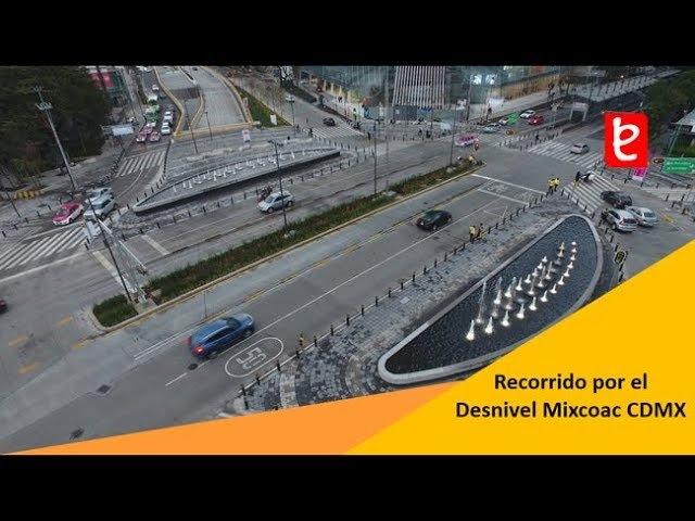 Mexico I Recorrido por el Desnivel Mixcoac - Insurgentes CDMX