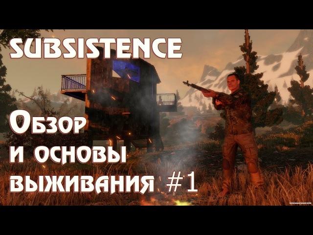 Игра Subsistence - обзор, прохождение. Что за игра и как начать в неё играть. Основы выживания 28