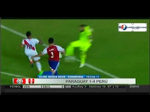 Paraguay vs Peru 1-4 - Resumen Completo - 11Noviembre2016 - Eliminatorias Rusia 2018