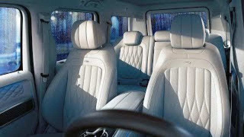 New G-class Exclusive interior PLUS - macchiato beige designo leather and AMG carbon fiber