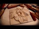 Резьба по дереву Декоративная ветка 1 часть Woodcarving Decorative branch 1 part