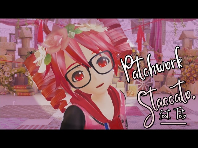 Kasane Teto ✧Patchwork Staccato | Cover✧