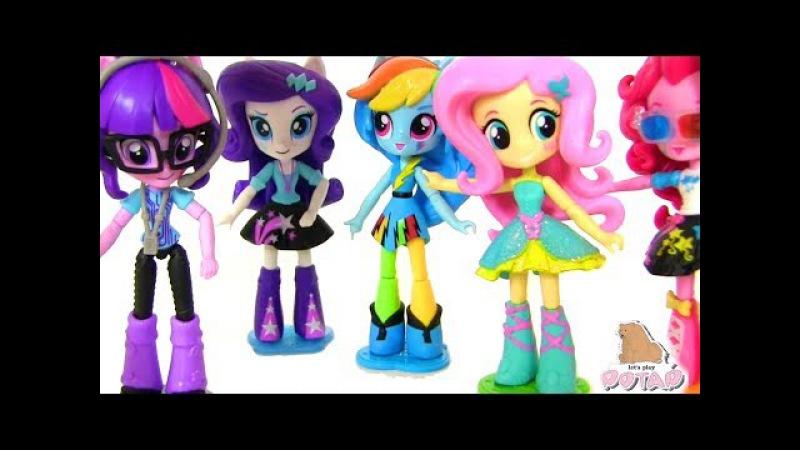 My Little Pony MLP Equestria Girls Май Литл Пони Мультик Девушки Герлз Девочки из Эквестрии