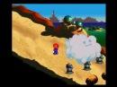 Super Mario RPG Супер Марио РПГ английская версия, первые минуты игры