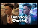 How to Edit Like Brandon Woelfel 4 in Photoshop CC Color Grading Tutorial With Asset Files