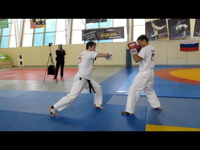 Chinzo Machida - fight training (part3)