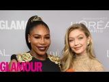 Джиджи получает награду «Женщина года» на премии журнала «Glamour» – 13 ноября