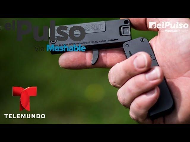 LifeCard: pistola de calbire 22 que pasa por tarjeta de credito | El Pulso | Entretenimiento