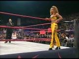 WCW Nitro 100900 - Tygress &amp Torrie Wilson BrawlRey Mysterio Jr vs. Elix Skipper