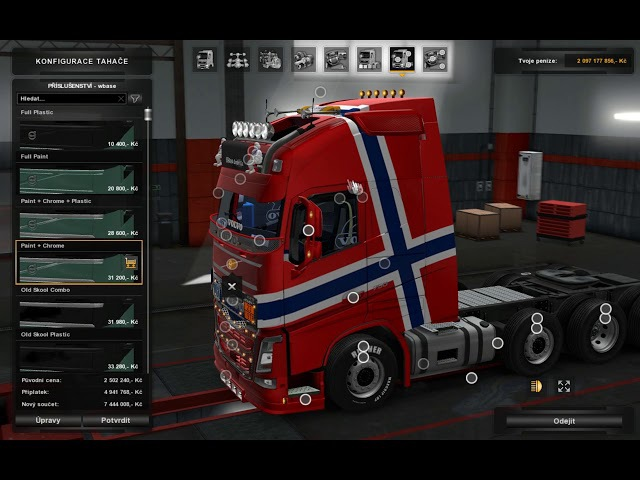 ETS2Euro Truck Simulator 2 Volvo ohaha for version 1 30 x