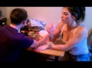 Awesome chick beats dude arm wrestling