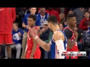 Ben Simmons & Kyle Lowry Exchange Words | Raptors vs Sixers | Jan 15, 2018 | 2017-18 NBA Season