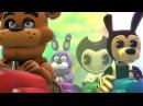 Bendy And The Ink Machine Feat School Of Animatronics Royal Bumper Car Mario Cart Battle Movie