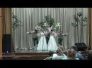 Русский лирический танец Черёмуха. Киргизия, 22.07.2017г.