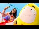 Aleyna Oddbods Bubbles ile balık tutmaya gidiyor