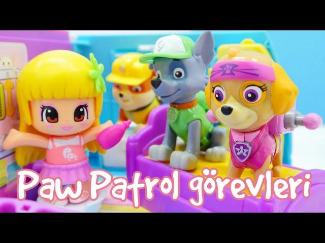 Paw Patrol derlemesi. Kız erkek çocuk oyunları