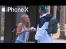 ДАРИТ ПРОХОЖИМ iPhone X ! Минутка доброты