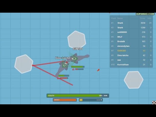 Лазерная акула Ио видео - Lasersharks Io геймплей