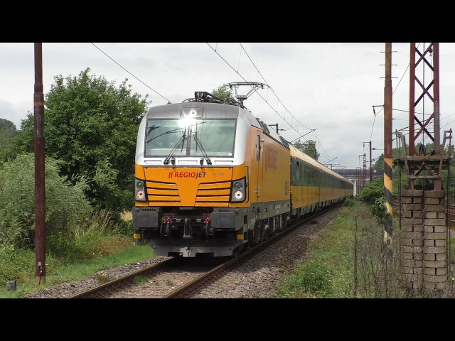 Žluté vlaky RegioJet