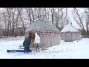 Этнопарк INAYA зимой в Салавате