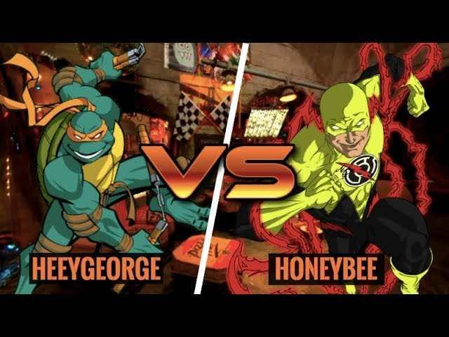 AWESOME MIKEY COMBOS! Michelangelo (HeeyGeorge) vs Reverse Flash (HoneyBee)