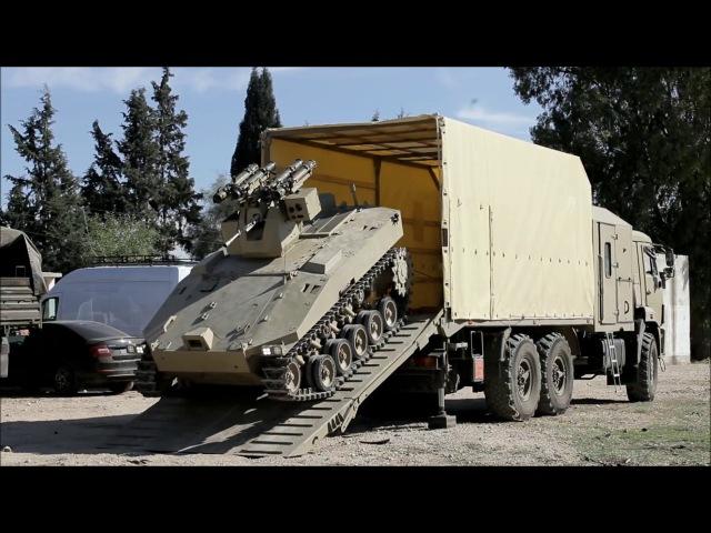 Работа российской техники в Сирии! Такого Вы еще не видели.