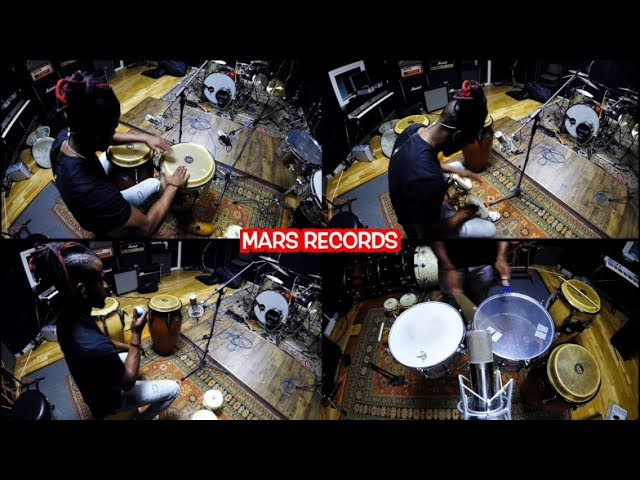 Final Cut split video with Cuban percussionist on Mars Records