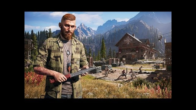 Far Cry 5 Gameplay - Whitetail Mountains (Co-op)