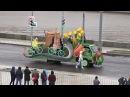 Парад карнавал в честь XIX Всемирного фестиваля молодежи и студентов прошел в Москве 2