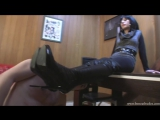 Mistress Mia Boot fetish Бут фетиш slave licking boots feet Foot fetish Фут-фетиш #femdom #nylon