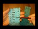 1 Топ майка Филейное вязание крючком по диагонали Crochet summer top
