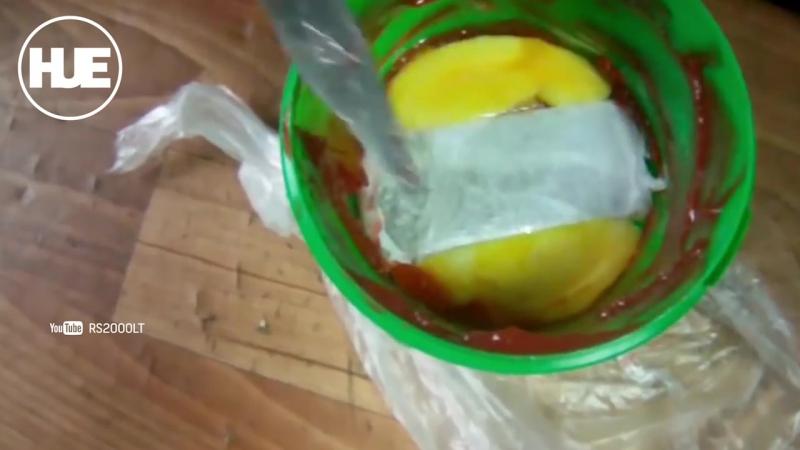 Попытка проноса запрещенного предмета в тюрьму попала на видео