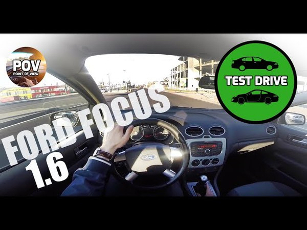 2007 Ford Focus 1.6 POV test drive and review