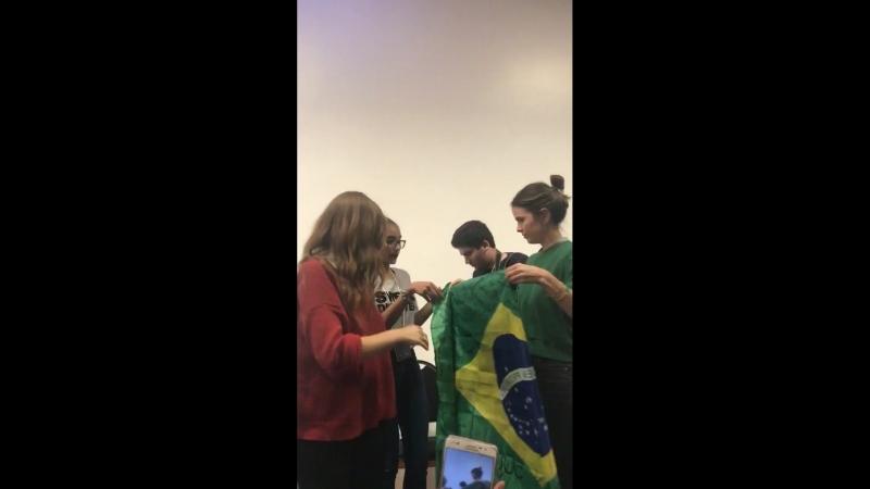 Шелли Хенниг на Meet Greet Darkmoon Reunion 2 Сан Паулу