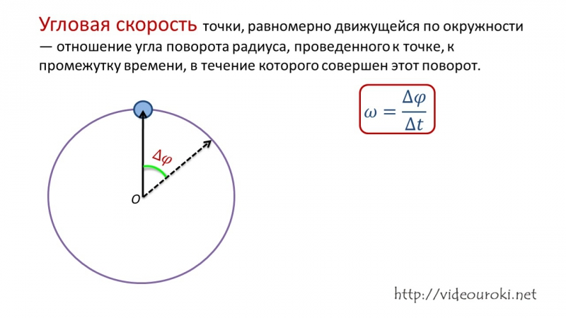 18. Равномерное движение МТ по окружности