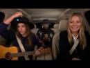 26 сентября 2017: Джессика Альба, Гвинет Пэтроу и на шоу Carpool Karaoke в Лос-Анджелесе.