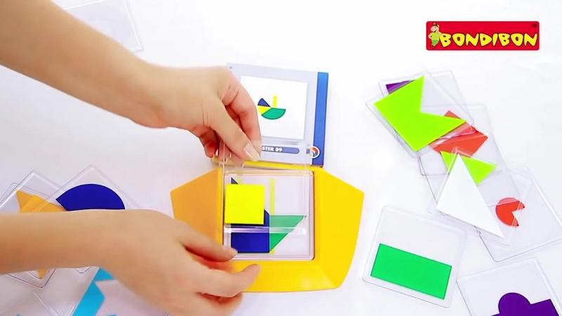 Логическая игра BONDIBON - Цветовой код