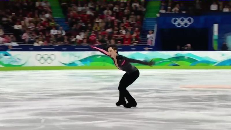 Johnny Weir on ice
