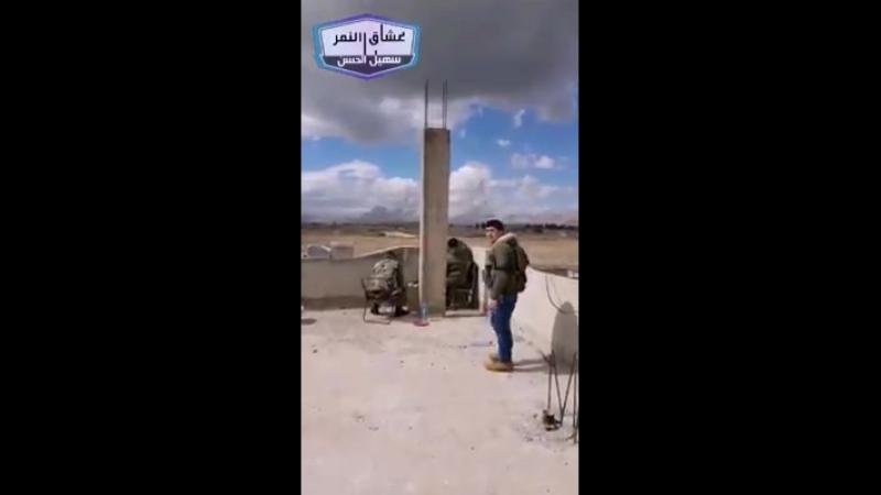 Бригадир Сухаил Аль-Хассан ведет операции в Восточной аль-Гуте