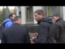 17.10.2017 года. Киев. Бандеровцы наивысшего эшелона власти дерутся между собой. Парасюк бьёт Гелетея.