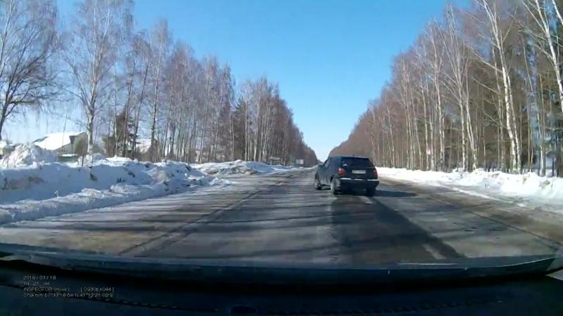 Авария на трассе Кострома-Красное, 18 марта 2018