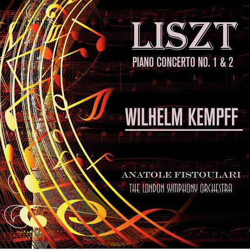 Wilhelm Kempff альбом Liszt: Piano Concerto No. 1 & 2 (Remastered)