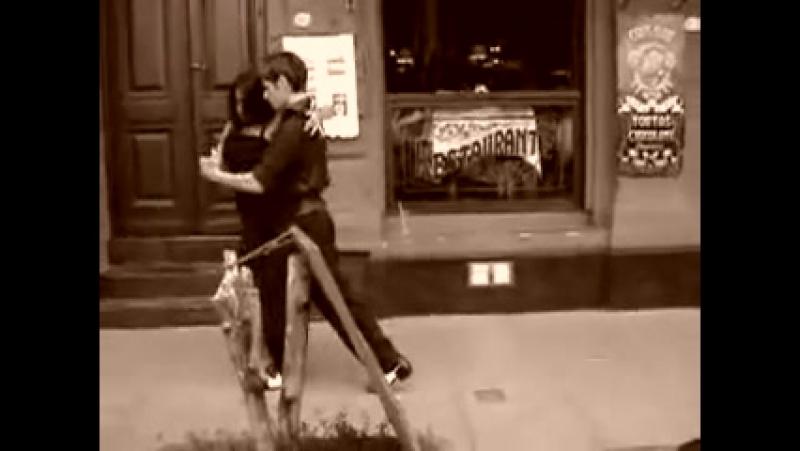 Уличное танго (очень красивое) ! Loreena McKennitt Tango to Evora