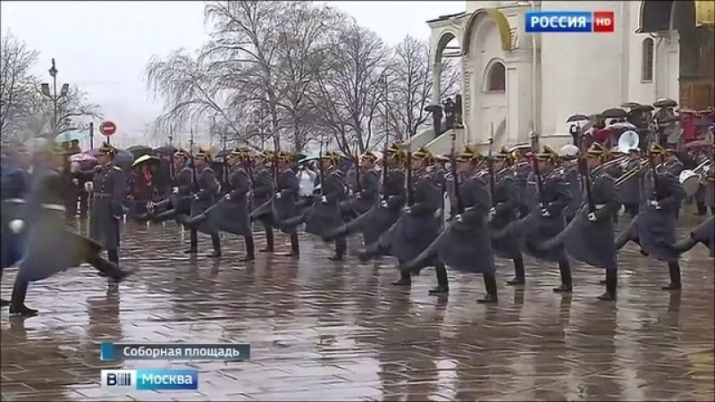 Вести-Москва • Сезон развода караулов Президентского полка открыт