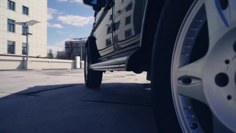 Mercedes gelandewagen ;)