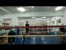тренировка бокс работа с гантелями VID 20180120 195628